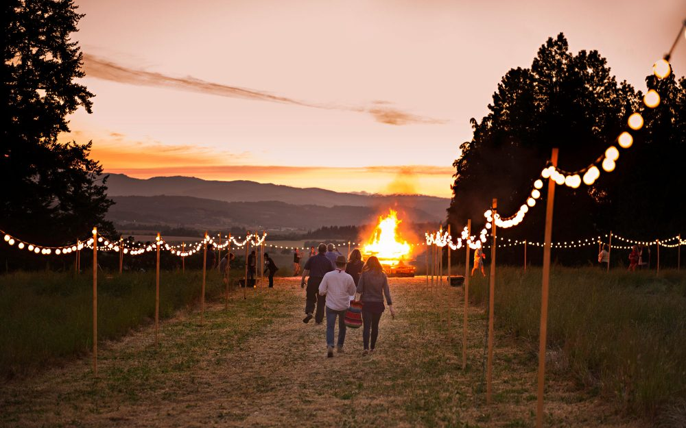 Bonfire Event Yamhill-Carlton Soter